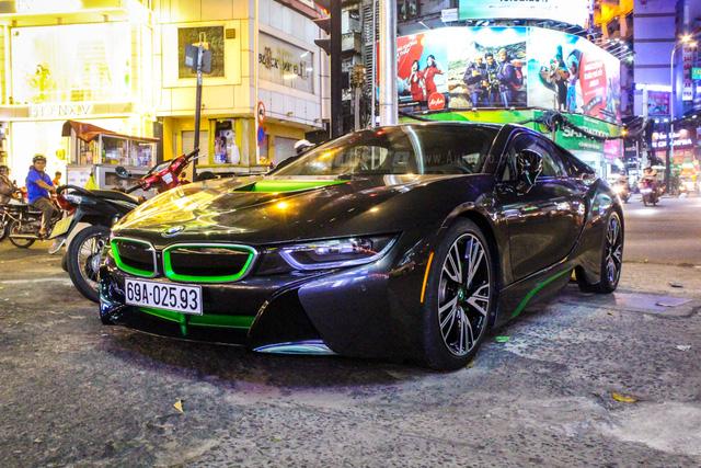 BMW i8 của thiếu gia Cà Mau xuất hiện tại Sài thành - Ảnh 2.