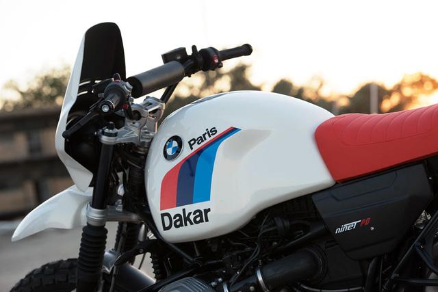 BMW R NineT khoác lên mình bộ trang bị khủng sẵn sàng vượt Dakar - Ảnh 2.