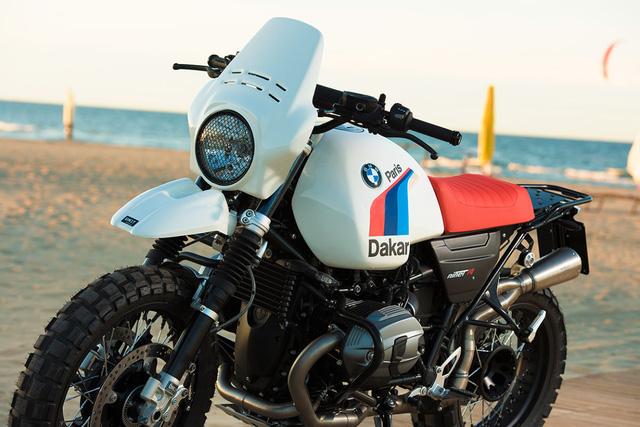 BMW R NineT khoác lên mình bộ trang bị khủng sẵn sàng vượt Dakar - Ảnh 5.