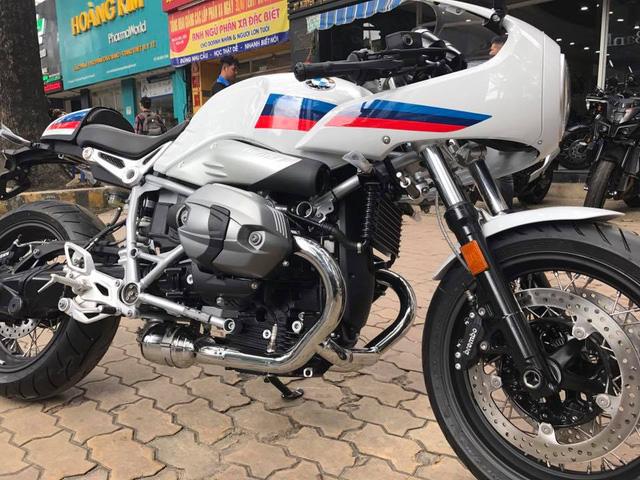 BMW R nineT phiên bản Racer đầu tiên cập bến Việt Nam - Ảnh 11.