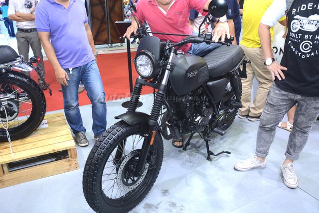 Soi Brixton BX Scrambler giá từ 50 triệu Đồng đang khiến nhiều biker Việt phát thèm - Ảnh 2.