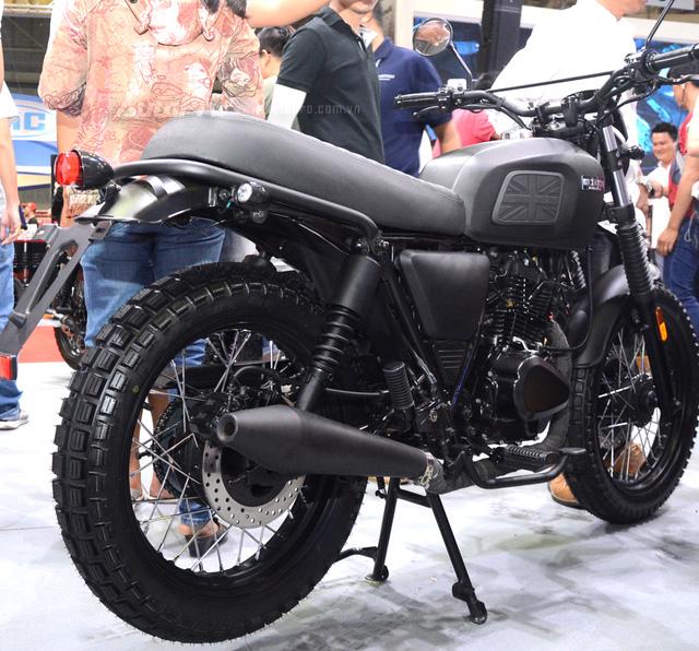 Soi Brixton BX Scrambler giá từ 50 triệu Đồng đang khiến nhiều biker Việt phát thèm - Ảnh 4.