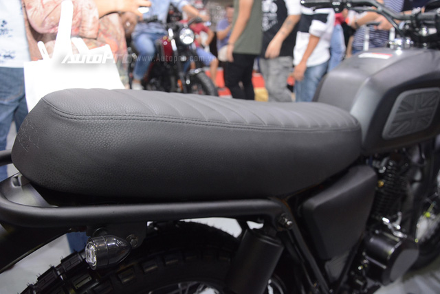Soi Brixton BX Scrambler giá từ 50 triệu Đồng đang khiến nhiều biker Việt phát thèm - Ảnh 7.