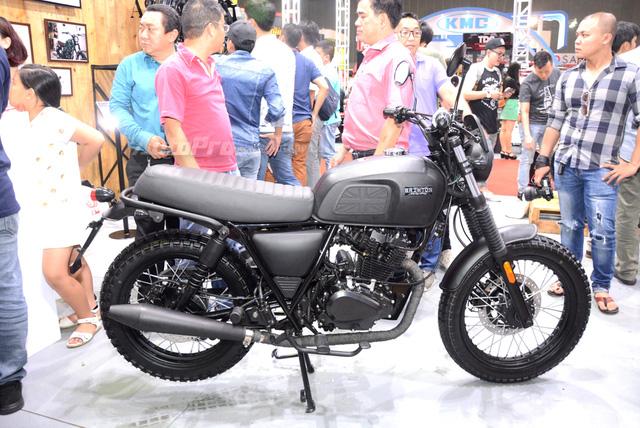 Soi Brixton BX Scrambler giá từ 50 triệu Đồng đang khiến nhiều biker Việt phát thèm - Ảnh 6.