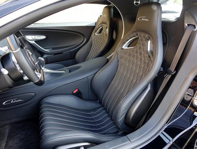 Vẻ đẹp của siêu phẩm Bugatti Chiron đầu tiên rao bán tại Anh - Ảnh 10.