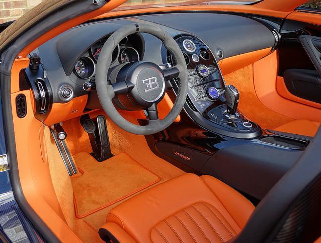 Chạy gần 3.000 km, Bugatti Veyron Grand Sport Vitesse vẫn có giá chát 67 tỷ Đồng - Ảnh 10.