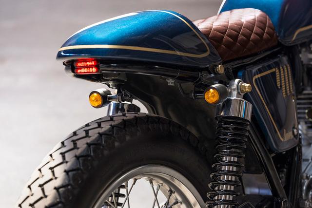 Ngắm nhìn Yamaha SR400 độ tuyệt đẹp - Ảnh 4.