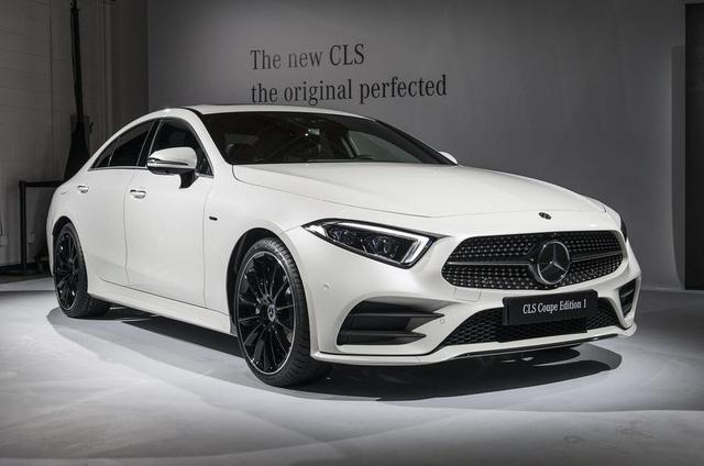 Ảnh thực tế Mercedes-Benz CLS 2019 vừa ra mắt - Ảnh 1.