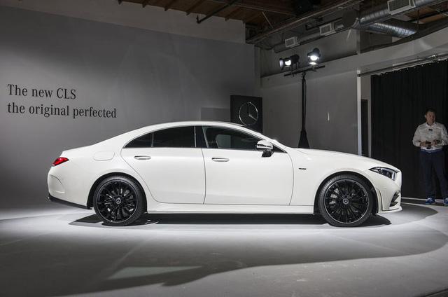 Ảnh thực tế Mercedes-Benz CLS 2019 vừa ra mắt - Ảnh 2.