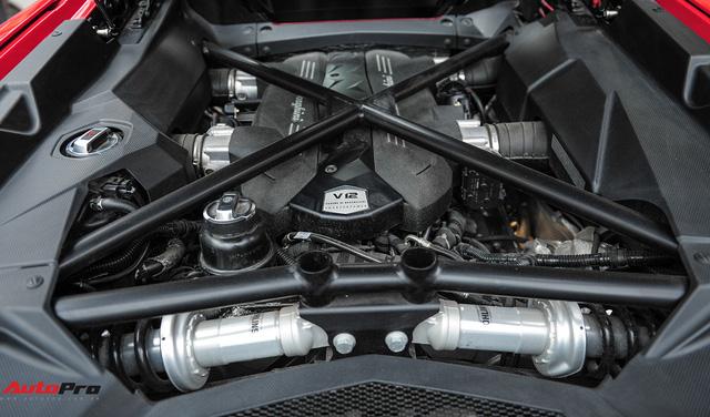 Chán phong cách Dubai, Lamborghini Aventador Roadster về màu nguyên bản tại Hà Nội - Ảnh 15.