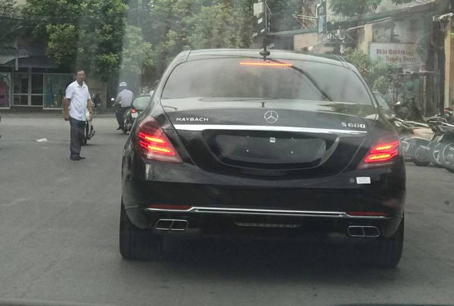 Mercedes-Maybach S600 14,2 tỷ Đồng đầu tiên xuất hiện tại Thanh Hóa - Ảnh 3.