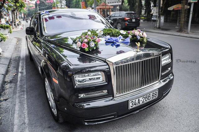Rolls-Royce Phantom EWB Series II 28 tỷ Đồng làm xe rước dâu tại Hải Dương - Ảnh 1.