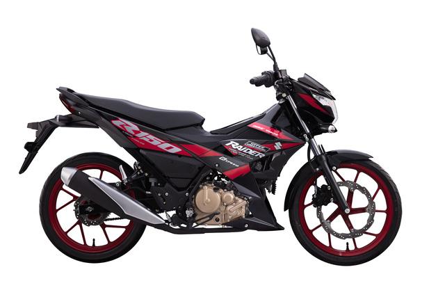 Cạnh tranh Yamaha Exciter, Suzuki Raider tung phiên bản mới tại Việt Nam - Ảnh 2.