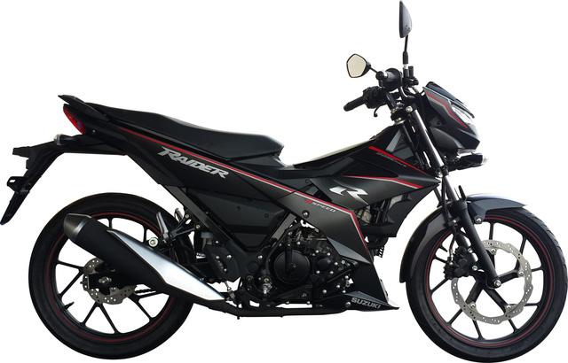Cạnh tranh Yamaha Exciter, Suzuki Raider tung phiên bản mới tại Việt Nam - Ảnh 5.