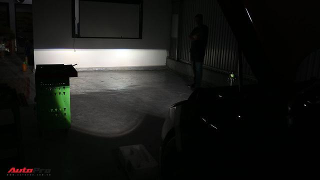 """Độ projector gầm - giải pháp cải thiện ánh sáng ô tô mà không cần phá đèn chiếu sáng """"zin"""" - Ảnh 4."""
