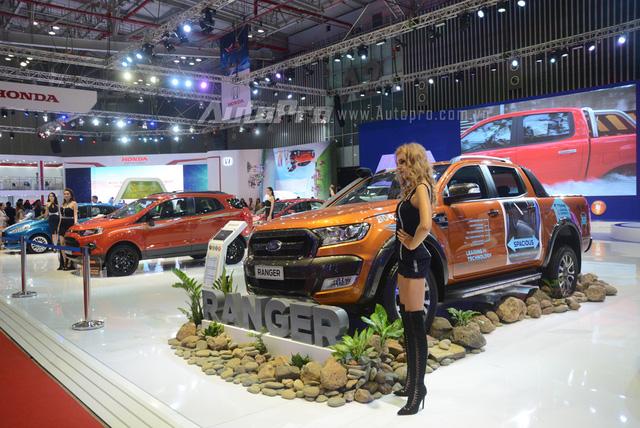 Trực tiếp: Ford Việt Nam là gian hàng duy nhất không đem đến sản phẩm mới nào - Ảnh 1.