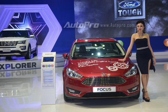 Trực tiếp: Ford Việt Nam là gian hàng duy nhất không đem đến sản phẩm mới nào - Ảnh 4.