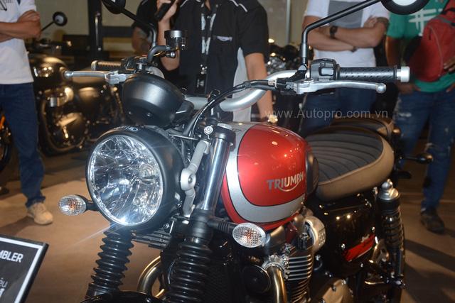 Chi tiết Triumph Street Scrambler giá 365 triệu Đồng, đối thủ nặng ký của Ducati Scrambler tại Việt Nam - Ảnh 15.