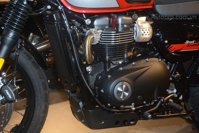 Chi tiết Triumph Street Scrambler giá 365 triệu Đồng, đối thủ nặng ký của Ducati Scrambler tại Việt Nam - Ảnh 14.