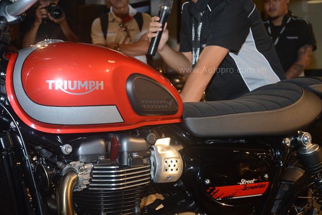 Chi tiết Triumph Street Scrambler giá 365 triệu Đồng, đối thủ nặng ký của Ducati Scrambler tại Việt Nam - Ảnh 10.