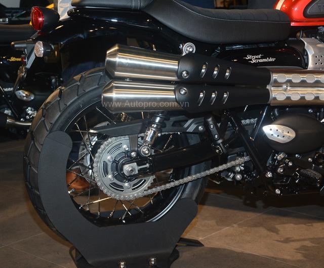 Chi tiết Triumph Street Scrambler giá 365 triệu Đồng, đối thủ nặng ký của Ducati Scrambler tại Việt Nam - Ảnh 13.