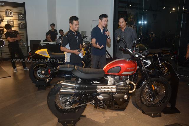 Chi tiết Triumph Street Scrambler giá 365 triệu Đồng, đối thủ nặng ký của Ducati Scrambler tại Việt Nam - Ảnh 2.