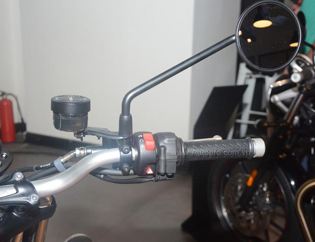 Chi tiết Triumph Street Scrambler giá 365 triệu Đồng, đối thủ nặng ký của Ducati Scrambler tại Việt Nam - Ảnh 8.