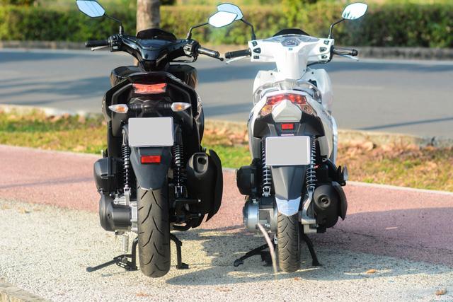 So sánh Yamaha NVX 125 và Honda Air Blade 125 - Ảnh 8.