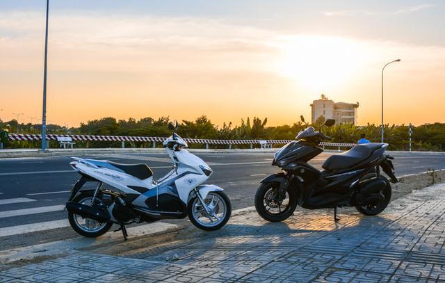 So sánh Yamaha NVX 125 và Honda Air Blade 125 - Ảnh 2.