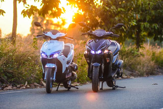 So sánh Yamaha NVX 125 và Honda Air Blade 125 - Ảnh 1.