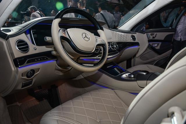 Cặp đôi Mercedes-Maybach S400 4Matic và S500 ra mắt khách hàng Việt, giá từ 6,9 tỷ Đồng - Ảnh 15.