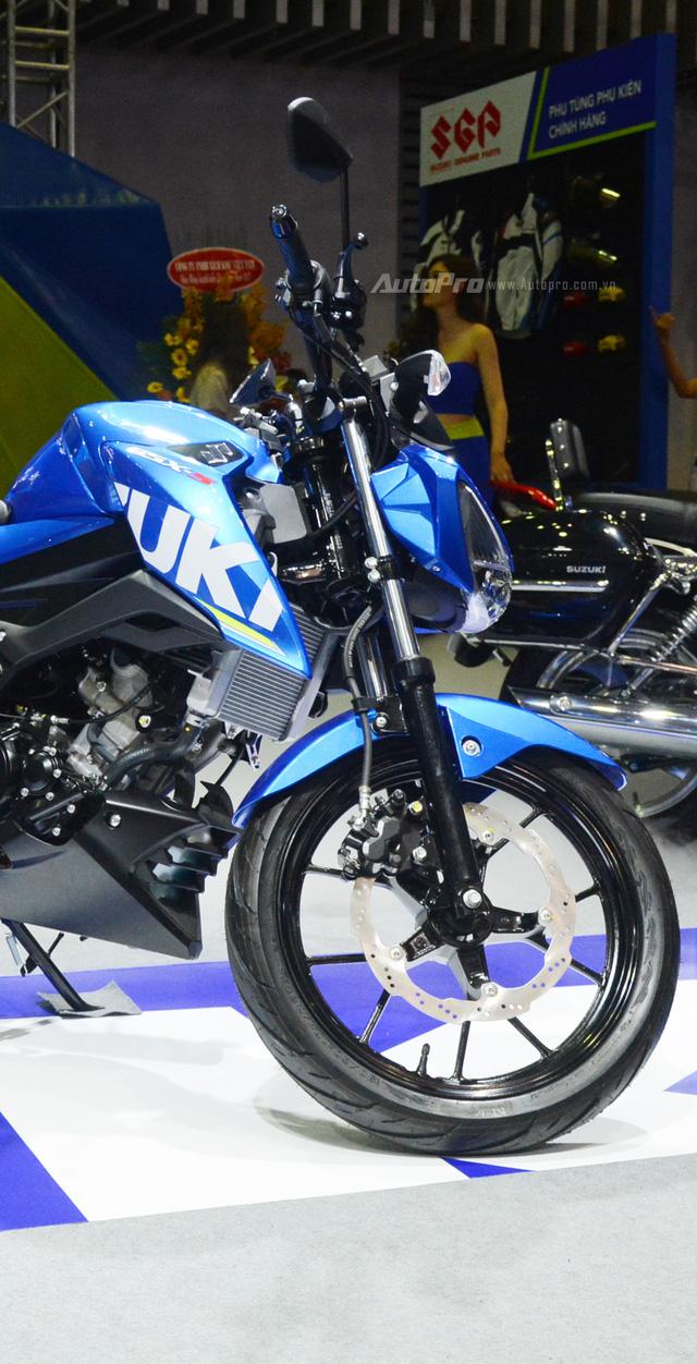 Cận cảnh Suzuki GSX-S150, đối thủ chính của Yamaha TFX 150 tại Việt Nam - Ảnh 13.