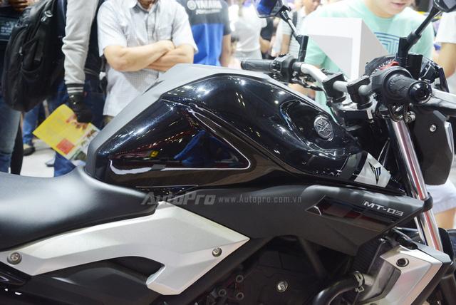 Yamaha MT-03 có giá bán 139 triệu Đồng tại Việt Nam - Ảnh 9.