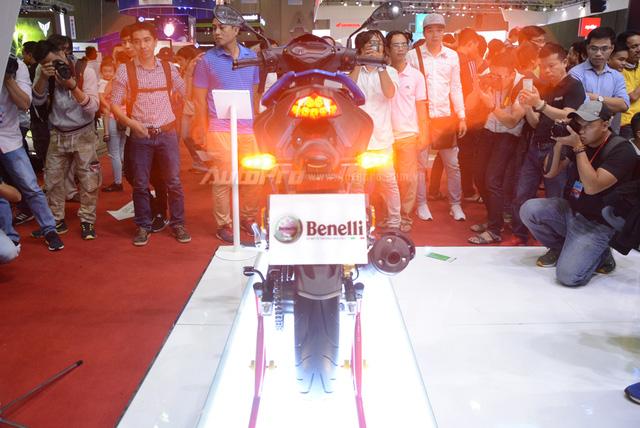 Đấu cùng Yamaha Exciter, Benelli bất ngờ ra mắt xe côn tay 150 phân khối mới tại Việt Nam - Ảnh 12.