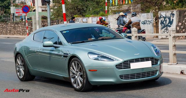 Hàng hiếm Aston Martin Rapide đổi màu tại Hà Nội - Ảnh 2.