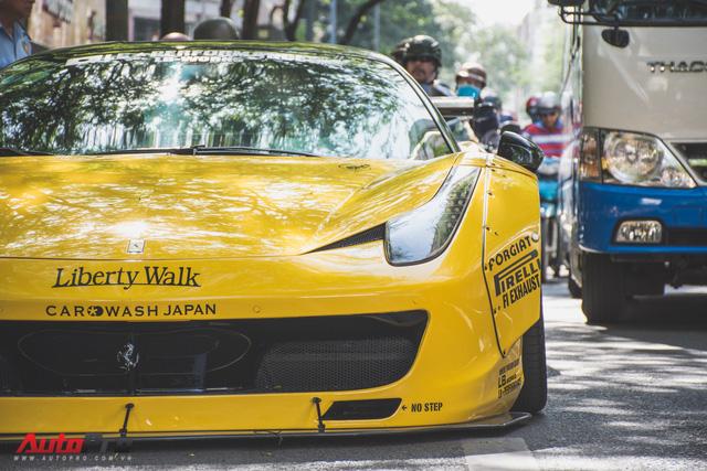 Ferrari 458 Liberty Walk độc nhất Việt Nam trở về màu nguyên bản - Ảnh 8.