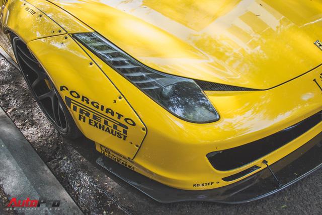 Ferrari 458 Liberty Walk độc nhất Việt Nam trở về màu nguyên bản - Ảnh 9.