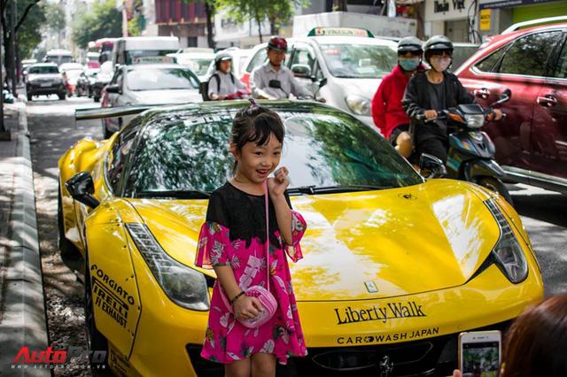 Ferrari 458 Liberty Walk độc nhất Việt Nam trở về màu nguyên bản - Ảnh 11.