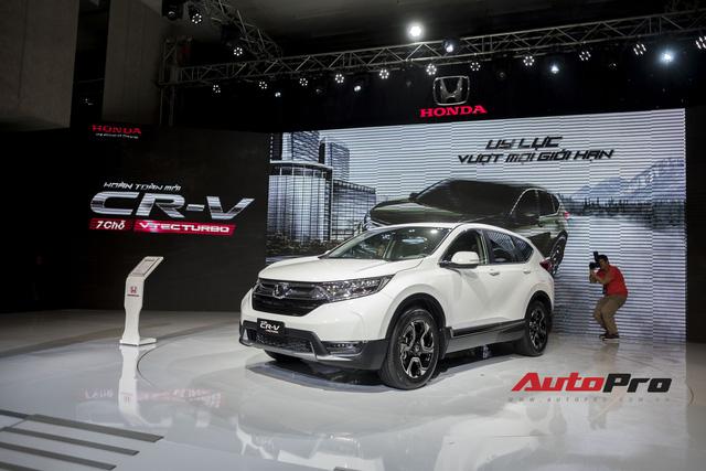 Cận cảnh Honda CR-V 2018 phiên bản cao cấp nhất vừa ra mắt Việt Nam - Ảnh 10.