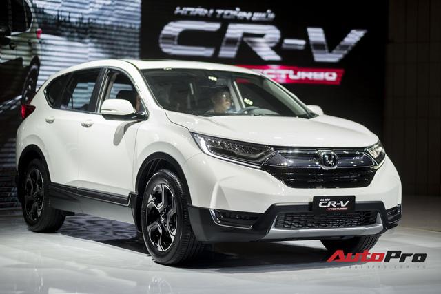 Cận cảnh Honda CR-V 2018 phiên bản cao cấp nhất vừa ra mắt Việt Nam - Ảnh 2.