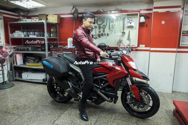 Diễn viên Hồng Đăng sắm Ducati Hyperstrada 939 chơi Tết - Ảnh 1.