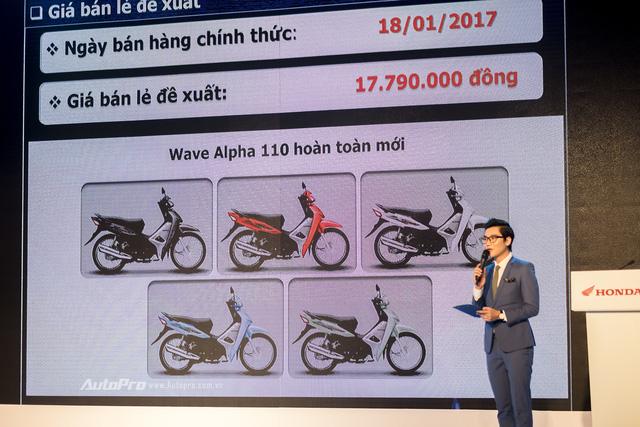 Honda Wave Alpha mới ra mắt với động cơ mạnh hơn, giá 17,79 triệu Đồng - Ảnh 4.