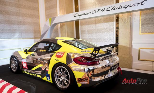 Chi tiết xe đua thể thao Porsche Cayman GT4 ClubSport vừa được giới thiệu tại Việt Nam - Ảnh 4.
