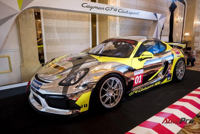 Chi tiết xe đua thể thao Porsche Cayman GT4 ClubSport vừa được giới thiệu tại Việt Nam - Ảnh 2.