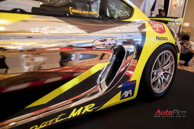 Chi tiết xe đua thể thao Porsche Cayman GT4 ClubSport vừa được giới thiệu tại Việt Nam - Ảnh 5.