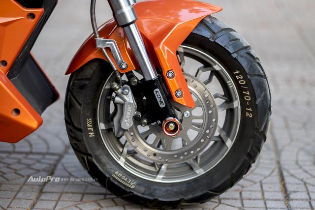 Cận cảnh xe điện mang kiểu dáng Ducati Monster, giá 25 triệu Đồng tại Hà Nội - Ảnh 7.
