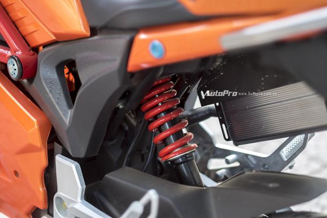 Cận cảnh xe điện mang kiểu dáng Ducati Monster, giá 25 triệu Đồng tại Hà Nội - Ảnh 16.