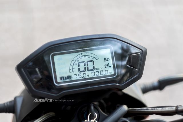 Cận cảnh xe điện mang kiểu dáng Ducati Monster, giá 25 triệu Đồng tại Hà Nội - Ảnh 11.