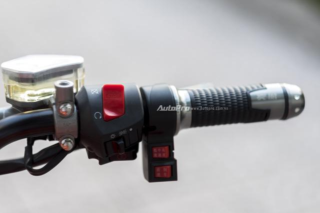 Cận cảnh xe điện mang kiểu dáng Ducati Monster, giá 25 triệu Đồng tại Hà Nội - Ảnh 13.