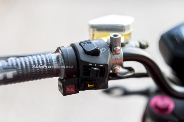 Cận cảnh xe điện mang kiểu dáng Ducati Monster, giá 25 triệu Đồng tại Hà Nội - Ảnh 12.
